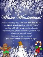 3rd Annual Winter Wonderland!