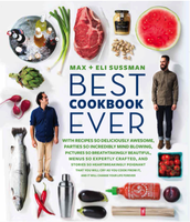 "Max & Eli Sussman's ""Best Cookbook Ever"" Dinner"