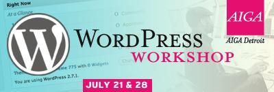 WordPress Workshop #2