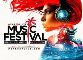LIMITED SUITES LEFT -  WeAreDRLive Music Festival Memorial Day Weekend in Punta Cana, Dominican Republic!!