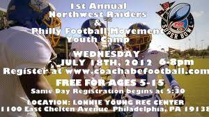 1st Annual Philly Football Movement & Northwest...