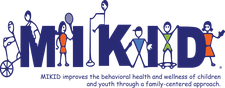 MIKID - Mentally Ill Kids In Distress logo