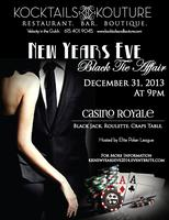 New Years Eve Black Tie Affair Casino Royale...