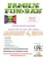 Inland Empire Invaders FAMILY NIGHT JANUARY 4, 2014
