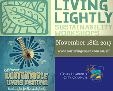 Living Lightly at Sustainable Living Festival 2017 logo