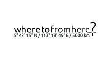 wheretofromhere? logo