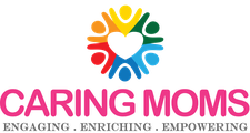 CARING MOMS logo