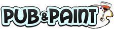 Pub and Paint logo
