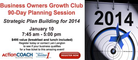 Business Owners 90-Day GrowthCLUB Strategic Planning...