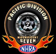 NHRA Pacific Division logo