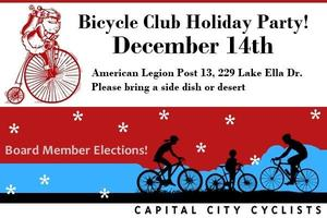 Capital City Cyclists Holiday Party & Annual Elections