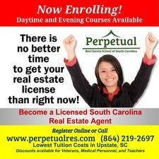 Perpetual Real Estate School of South Carolina logo