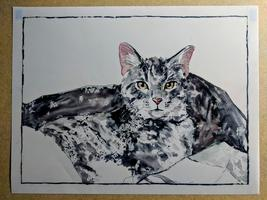 Pets in Watercolour-$50 plus material fee