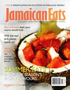 Passport to Caribbean Food/JamaicanEats magazine logo