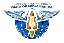 USAF Band of Mid-America logo