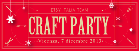 Etsy Italia Team - Craft Party di Natale a Vicenza