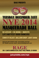 2nd Annual NYE Masquerade Ball
