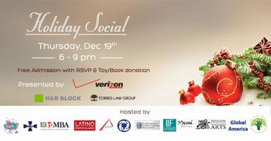 Latino Professionals Holiday Social & Toy/Book Drive