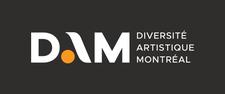 Diversité artistique Montréal (DAM) logo