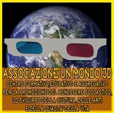 Associazione Un Mondo in 3D logo