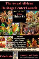 Awazi African Heritage Center Launch