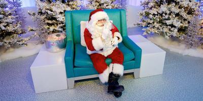 Quiet Santa Visit - At Square One in Mississauga with Autism Ontario Peel