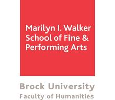 Marilyn I. Walker School of Fine and Performing Arts, Brock University logo