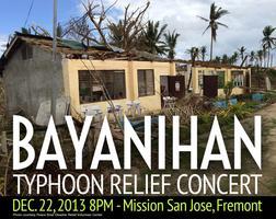 """""""Bayanihan"""" Typhoon Relief Concert"""