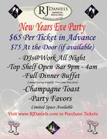 RJ Daniels New Years Eve Party