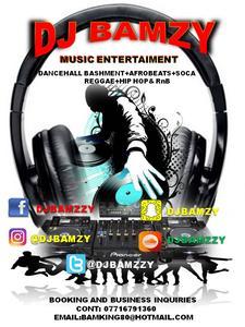 DJ Bamzy (Swindon UK) logo