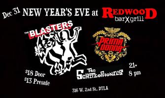New Year's Eve w/ the BLASTERS, PRIMADONNA & the SCHITZOPHONICS