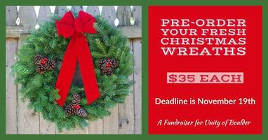 Pre-order Your Fresh Christmas Wreath!