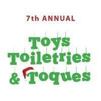 Toys Toiletries & Toques 7TH Annual Fund Raiser logo