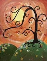 """""""Whimsical Fall Tree"""" ADULT PAINT & SIP"""