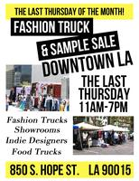Downtown Fashion Truck & Sample Sale
