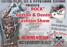 Tattoo Teezee, llc and Jordan Flyystarink Clothing logo
