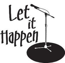 Let It Happen Bookings vzw logo