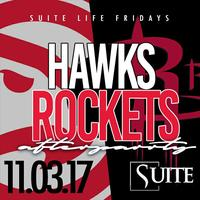 THIS FRIDAY :: BIG TIGGER HOST HAWKS VS ROCKETS...