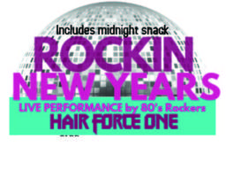 New Years Eve 2018- Rocking 80 Style