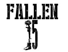 Fallen 15 logo