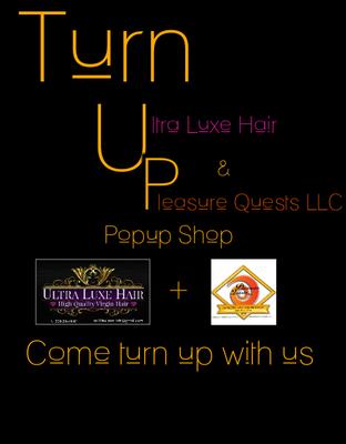 ULTRA LUXE HAIR/PLEASURE QUESTS LLC  logo