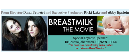 Ricki Lake's Breastmilk Film Screening and Educational...