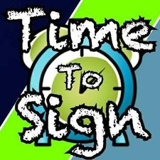 Time to Sign logo
