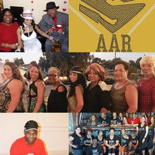 SAAR (Solid As A Rock) Productions Line Dance Family logo