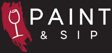 Louise Collier, Paint & Sip logo