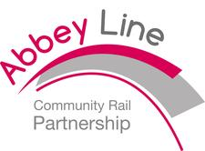 Abbey Line Community Rail Partnership logo