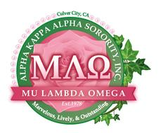 Mu Lambda Omega Chapter of Alpha Kappa Alpha logo