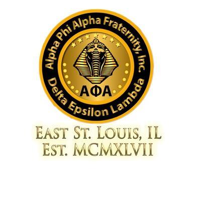 Alpha Phi Alpha - Delta Epsilon Lambda Chapter logo