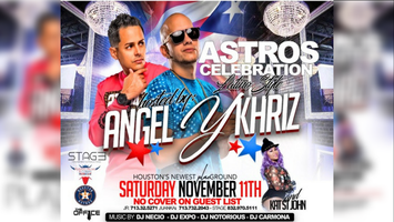 Astros Celebration Latino Style at PLAE Houston | NO...