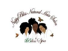NappyBliss Natural Hair Salon  logo